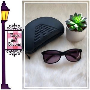 EMPORIO ARMANI Sunglasses & Case NWT